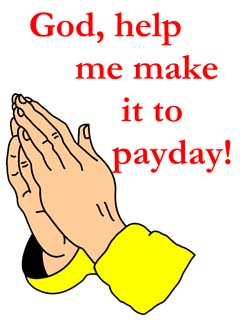 payday prayer gift design