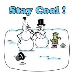 stay cool gift design